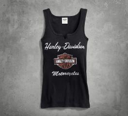 Harley-Davidson® Women's Classic Notch Neck Tank 99140-17VW
