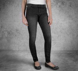 Harley-Davidson® Women's Skinny Mid-Rise Jeans 99189-17VW