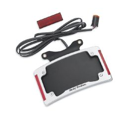 Harley-Davidson® Curved License Plate Frame with LED Lighting 67900275