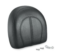 Tall Passenger Backrest Pad for Softail One-Piece Upright- Softail Deluxe Pattern