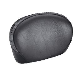 Medium Low Touring Passenger Backrest Pad with Fat Boy Styling