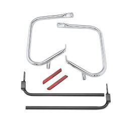 Harley-Davidson® Chrome Rear Saddlebag Guard Kit 49282-09B