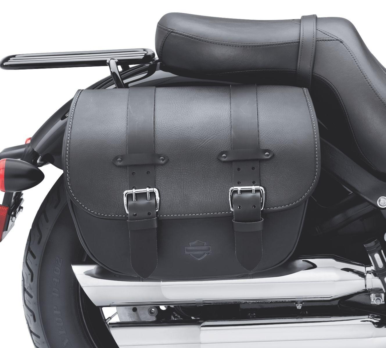 90200353b Harley Davidson H D Detachables Leather Saddlebags Protectant Softail Slim And Blackline Models Manchester