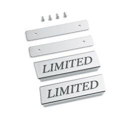 Harley-Davidson® Saddlebag Lid Rail Limited Medallions 90200740