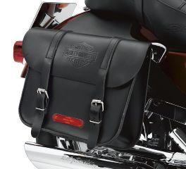Harley-Davidson® Leather Throw-Over Saddlebags 91008-82C