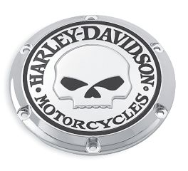 Harley-Davidson® Willie G. Skull Derby Cover 25440-04A