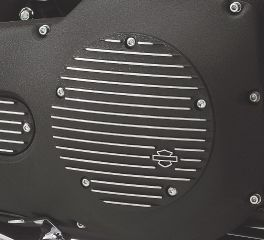 Harley-Davidson® Black Fin Derby Cover 25454-01