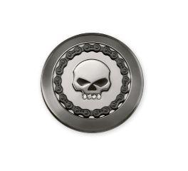 Harley-Davidson® Skull & Chain Fuel Cap Trim 61100018