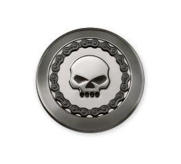 Harley-Davidson® Skull & Chain Fuel Cap Trim 61100032