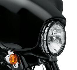 Harley-Davidson® Burst Headlamp Trim Ring 61400149