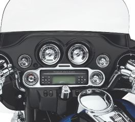 Harley-Davidson® Radio and Gauge Faceplate Trim 74612-06