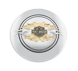 Harley-Davidson® Flames Fuel Cap Medallion 99686-98