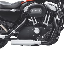 Harley-Davidson® Screamin' Eagle Jet Black Header Pipes 80887-10