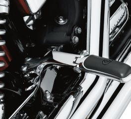 Harley-Davidson® Chrome Passenger Footpeg Support Kit 49249-06