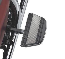 Harley-Davidson® Diamond Black Passenger Footboard Insert Kit 50627-08