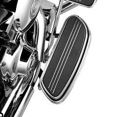 Harley-Davidson® Swept Wing Rider Footboard Pans 50683-04