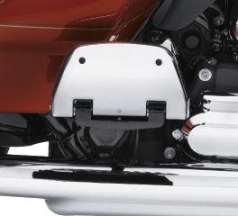 Harley-Davidson® Chrome Passenger Footboard Pans 50752-04