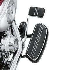 Harley-Davidson® Black Rider Footboard Pans 51060-08