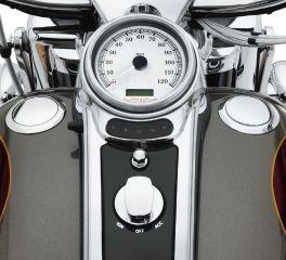 Harley-Davidson® Flush-Mount Fuel Cap and Gauge Kit 62811-08C