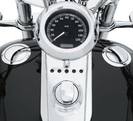 Harley-Davidson® Flush-Mount Fuel Cap and Gauge Kit 62818-06F