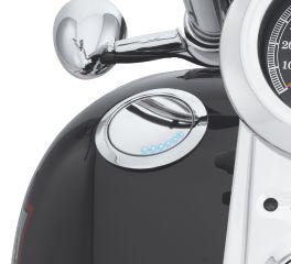 Harley-Davidson® Flush-Mount Fuel Cap and Gauge Kit 62823-06C