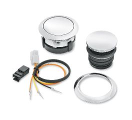 Harley-Davidson® Flush-Mount Fuel Cap and Gauge Kit 62910-09C