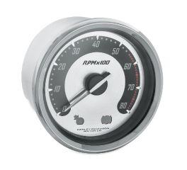 Harley-Davidson® Spun Aluminum Face Tachometer 67522-04B