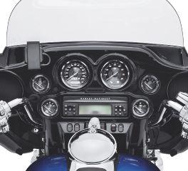 Harley-Davidson® Speedometer Titanium Face Gauge 74682-10