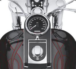 Harley-Davidson® Flush-Mount Fuel Cap and Gauge Kit 75027-08C