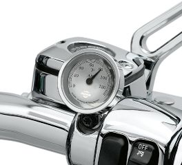 Harley-Davidson® Handlebar Thermometer 75104-04