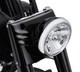 Harley-Davidson® Black Domestic Headlamp Shell 73294-10