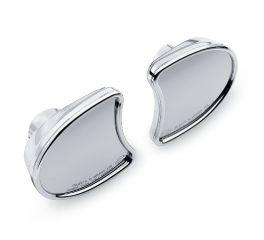 Harley-Davidson® Chrome Fairing Mount Mirrors 56000029