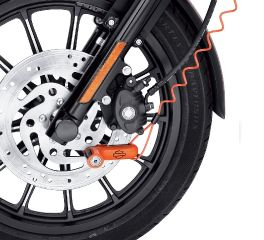 Harley-Davidson® Orange Disc Brake Lock and Reminder Cord 94873-10