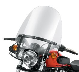 Harley-Davidson® Quick-Release Compact Windshield 58053-10