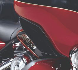 Harley-Davidson® Black Fairing Air Deflector 58568-98A