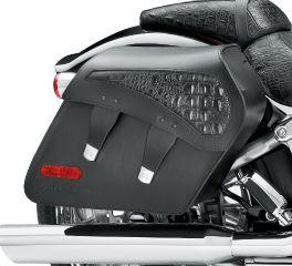 Harley-Davidson® H-D Detachables Leather Saddlebags - Breakout - Black CVO FXSBSE 90200765