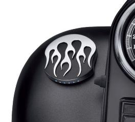 Harley-Davidson® Midnight Flames LED Fuel Gauge 75345-10A