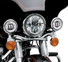 Harley-Davidson® 4 in. Daymaker™ Projector LED Auxiliary Lamps 68000172