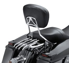 Harley-Davidson® Stealth H-D Detachables Two-Up Luggage Rack 53472-09A