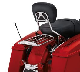 Harley-Davidson® Air Wing H-D Detachables Two-Up Luggage Rack 54283-09A