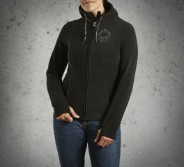 Harley-Davidson® Women's Skull Fleece Jacket 99153-14VW
