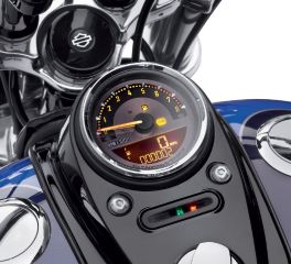 Harley-Davidson® 4 in. Combination Digital Speedometer/Analog Tachometer 70900100C