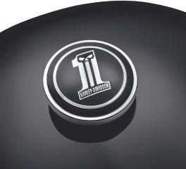 Harley-Davidson® Dark Custom Logo Fuel Cap Medallion 99688-10