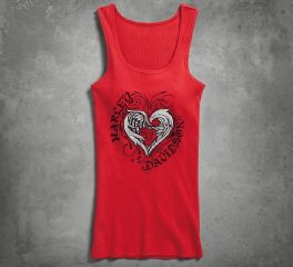 Harley-Davidson® Women's Stylized Heart Sleep Tank 97815-17VW
