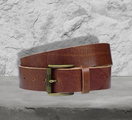 Harley-Davidson® Men's Distressed Brown Belt 97847-17VM