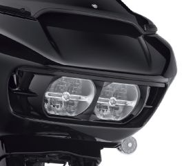 Harley-Davidson® Road Glide Headlamp Trim - Gloss Black 61400412DH