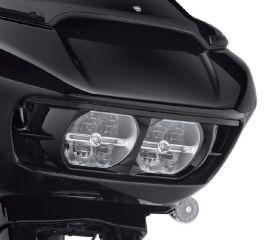 Harley-Davidson® Road Glide Headlamp Trim - Gloss Black 61400412DH