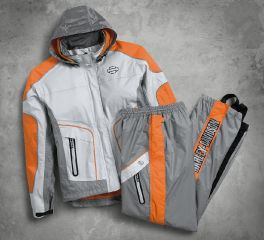 Harley-Davidson® Women's Midpoint Colorblock Rain Suit 98203-17VW