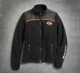 Harley-Davidson® Women's Miss Enthusiast Fleece Jacket 98585-17VW
