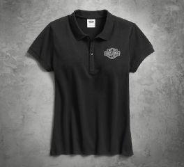 Harley-Davidson® Women's Logo Polo 99106-17VW